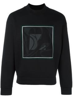 logo print sweatshirt Wooyoungmi