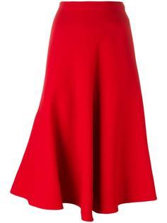 драпированная юбка длины миди Marni