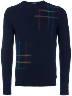 stripes motif jumper Zanone