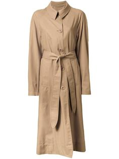 классическое пальто с поясом Lemaire