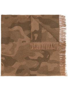 шарф с камуфляжным принтом The Inoue Brothers