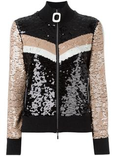 sequined zipped cardigan Aviù