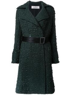 пальто с поясом Nina Ricci