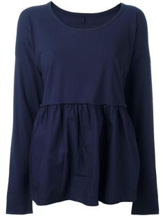 relaxed fit blouse Rundholz
