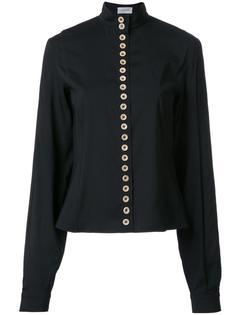 рубашка с воротником-стойкой Lemaire