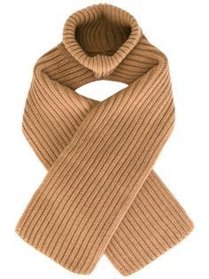 вязаный шарф в рубчик Erika Cavallini