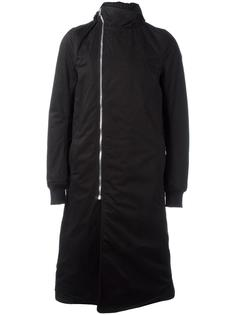dislocated zip mid coat Rick Owens DRKSHDW