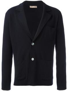 вязаный пиджак с накладными карманами Cruciani