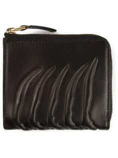 кошелёк с рёбрами Alexander McQueen