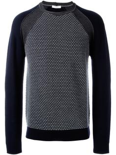 patterned panel jumper Paolo Pecora