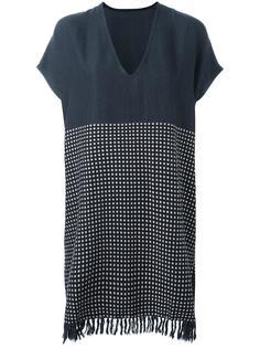 свободное платье с бахромой Lemlem