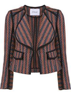 striped fitted jacket Derek Lam 10 Crosby