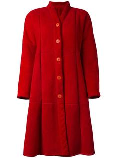 oversized faux fur coat Gianfranco Ferre Vintage