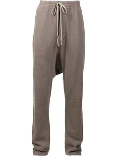 drawstring drop-crotch sweatpants Rick Owens DRKSHDW