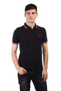 Поло Fred Perry Slim Fit Twin Tipped Shirt