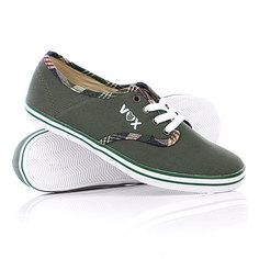 Кеды кроссовки женские Vox Parlor Green/Brown