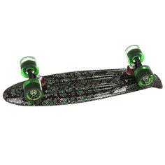 Скейт мини круизер Turbo-FB Pavlin Black/Black/Grenny 6 x 22 (55.9 см)