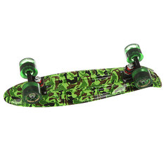 Скейт мини круизер Turbo-FB Camo Black/Green/Greeny 6 x 22 (55.9 см)