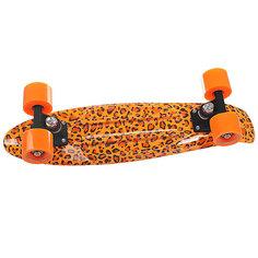 Скейт мини круизер Turbo-FB Leo Yellow/Orange/Black