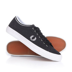 Кеды кроссовки низкие Fred Perry Kendrick Tipped Cuff Brushed Cotton Navy