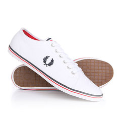 Кеды кроссовки низкие Fred Perry Kingston Twill White