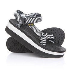 Сандалии женские Teva Flatform Universal Candy Stripe Black