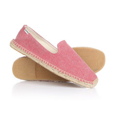Эспадрильи Soludos Smoking Slipper Red