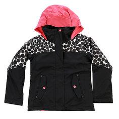 Куртка детская Roxy Rxjetgirlclrblk Irregular Dots True