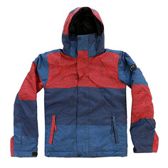 Куртка детская Quiksilver Mission Print Stripe Racing Red