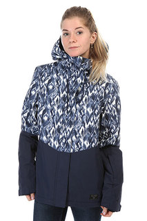 Куртка женская Billabong Akira Printed Peacoat