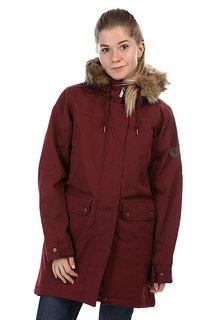 Куртка парка женская Billabong Petra Mystic Maroon