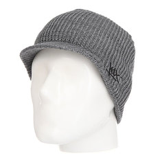 Шапка с козырьком K1X Classic Ribbed Shield Beanie Black