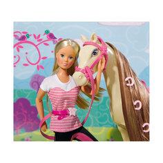 """Кукла """"Штеффи верхом на лошади"""", 29 см, Simba"""