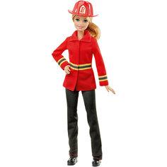 """Кукла Barbie Пожарный из серии """"Кем быть?"""" Mattel"""
