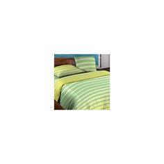 Постельное белье Евро Stripe Lime БИО Комфорт, Wenge Motion