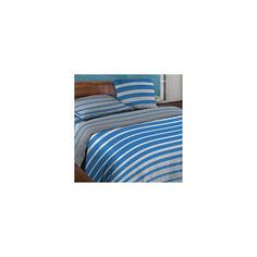 Постельное белье 1,5 сп. Stripe Blue БИО Комфорт, Wenge Motion