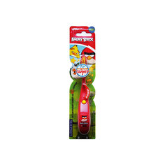 Детская зубная щётка музыкальная, Angry Birds, LONGA VITA, красный
