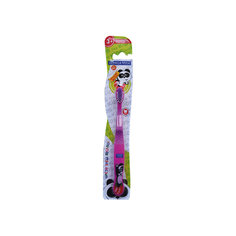 Детская зубная щетка Забавные зверята, от 3-х лет, арт. S-138, LONGA VITA, сиреневый
