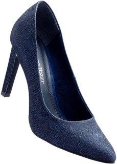 Туфли (серый блестящий) Bonprix