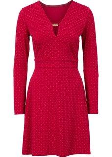 Платье с аппликацией заклепками (темно-синий/золотистый) Bonprix
