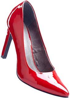 Лакированные туфли (красный чили) Bonprix