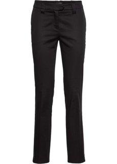 Хлопковые брюки со стрелками (натуральный) Bonprix