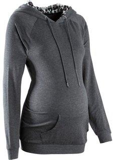 Свитшот для беременных (черный) Bonprix