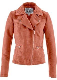 Куртка из материала под замшу (нежно-коралловый) Bonprix