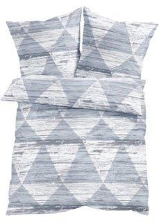 Постельное белье Беа, линон (серый) Bonprix