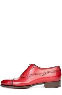Туфли с рожком для обуви Santoni