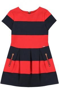Платье джерси в полоску Jean Paul Gaultier