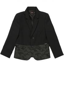 Пиджак из шерсти с декоративной отделкой Jean Paul Gaultier