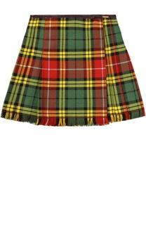 Клетчатая юбка Jean Paul Gaultier