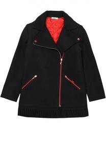 Пальто с контрастной отделкой Jean Paul Gaultier